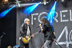 Foreigner live in Hellfest 2016 Royalty Free Stock Image