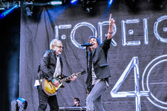 Foreigner live in Hellfest 2016 Stock Images