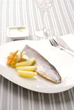 forel filet Stock Fotografie