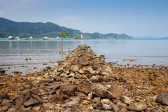 Foreland on the island. Of Koh Chang in Thailand Royalty Free Stock Image