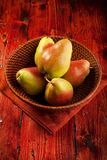 Forelle Pears Stock Photo
