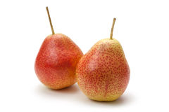 Forelle Pears isolated Royalty Free Stock Photos