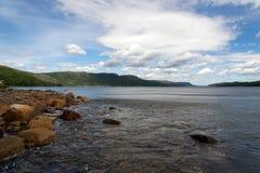 Forellen-Fluss-Teich lizenzfreie stockfotografie