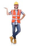 Foreman isolated on the white Royalty Free Stock Images