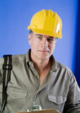 Foreman on the Job Royalty Free Stock Images