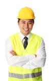 Foreman, on the job Stock Image