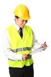 Foreman, on the job Royalty Free Stock Photo