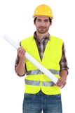 Foreman standing Stock Photography