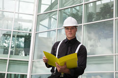 Foreman At Work Stock Photography