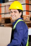 Foreman Working At Warehouse Stock Image