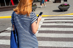 Foremnej kobiety synkliny chodzący rozdroże 04 Zdjęcie Stock