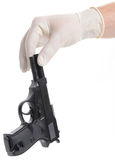 Forensic crime Stock Image