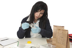 Forensic Investigator Stock Photos