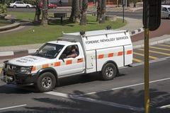 Forensic Pathology Service vehicle Stock Images