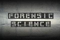 Forensic science GR Royalty Free Stock Photos