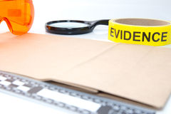 Forensic tool for crime scene investigation Royalty Free Stock Photography