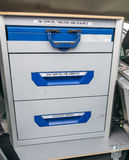 Forensics kit Stock Photo