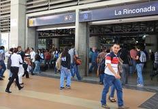 Forenzen in Caracas, Venezuela royalty-vrije stock afbeeldingen