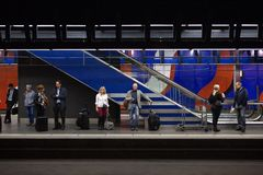 forenzenmetro Stock Foto