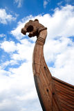 Forepart of the Viking ship Royalty Free Stock Photo