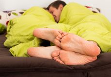 Foreplay Royalty Free Stock Images