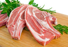 Forequarter Chops Stock Image