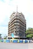 Forescom大厦在金沙萨 免版税库存图片