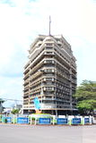 Forescom Building in Kinshasa Royalty Free Stock Image