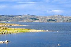 Foreshore de Jindabyne do lago em Austrália imagem de stock