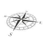 Foreshortened компас Стоковое Фото