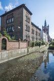 Foreshortening gdansk poland europe Royalty Free Stock Image