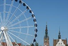 Foreshortening gdansk poland europe Stock Image