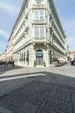 Foreshortening historic bratislava slovakia europe Royalty Free Stock Image