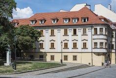 Foreshortening historic center bratislava slovakia europe Stock Photo