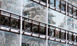 Foreside van de winter Stock Afbeelding