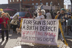 Foreskin Is Not a Birth Defect Royalty Free Stock Photography