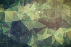 Forest abstract background - dark green and brown triangle concept. Forest abstract background - green and brown triangle concept Stock Photos