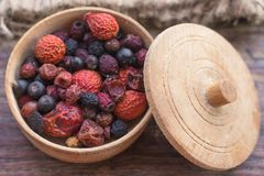 Free Forest And Garden Berries In Dried Form Royalty Free Stock Image - 110644186