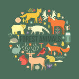 Forest Animals Stock Photo
