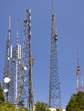 Forest of Antennas Royalty Free Stock Photography