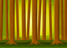Forest background Royalty Free Stock Images