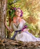 Forest Blossoms e sonhos feericamente imagens de stock royalty free