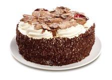 Forest Cake nero Immagini Stock Libere da Diritti