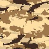 Forest Camouflage Pattern Background militar inconsútil clásico Imagen de archivo