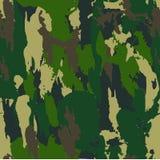 Forest Camouflage Pattern Background militar inconsútil clásico Imágenes de archivo libres de regalías