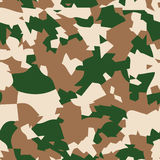 Forest camouflage seamless pattern. Textures Royalty Free Stock Photography