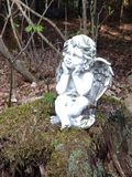 Forest cherub 2 Royalty Free Stock Photography