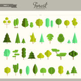 Forest constructor kit - part 5 Royalty Free Stock Photo