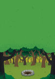 Forest Day Poster Royalty Free Stock Photo