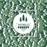 Forest day Stock Image